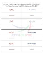 Vocabulary flash cards   chemical formulas02