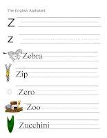 53914 the alphabet  letter z