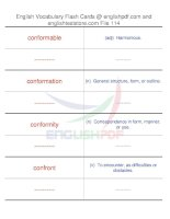 TOEFL IBT vocabulary flash cards114