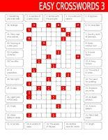 16729 easy crosswords 3