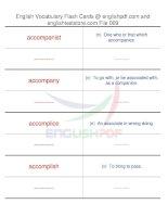 TOEFL IBT vocabulary flash cards09