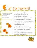 413 lets be teachers