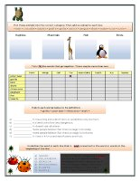 islcollective worksheets elementary a1 adults elementary school high school reading present simple tense animals body in 1050598156555c8fe8285271 49958593