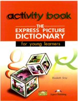3 The Express Picture Dictionary Activity Book