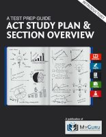 act study plan guide