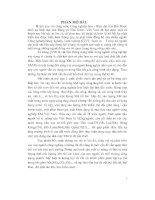 ĐỀ tài THIẾT kế dây CHUYỀN CÔNG NGHỆ xử lý KHÍ THẢI từ lò NUNG CLINKE của NHÀ máy XI MĂNG HOÀNG THẠCH