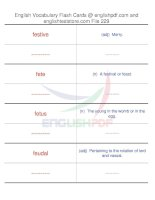 TOEFL IBT vocabulary flash cards229