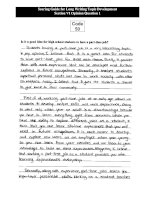 2009 essay example for leanning english