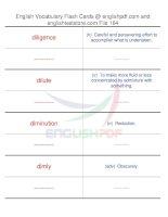 TOEFL IBT vocabulary flash cards164