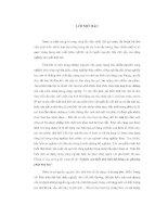 ĐỀ tài NGHIÊN cứu BIẾN TÍNH TINH bột BẰNG các PHƯƠNG PHÁP HOÁ học