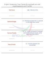 TOEFL IBT vocabulary flash cards264
