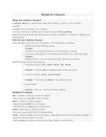 Relative clauses   english grammar