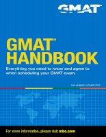 gmat handbook  for leanning english
