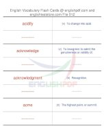 TOEFL IBT vocabulary flash cards12