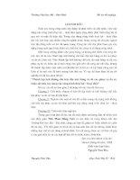 ĐỒ án THÀNH lập lưới KHỐNG CHẾ TRẮC địa mặt BẰNG và độ CAO PHỤC vụ đo vẽ, KHẢO sát KHU xây DỰNG các CÔNG TRÌNH THỦY lợi, THỦY điện