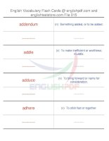 TOEFL IBT vocabulary flash cards15