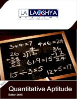 free study material for bankpo clerk SBI IBPS rbi quantitative aptitude