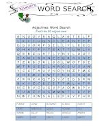 55256 adjectives word search