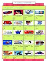 18403 adjective  preposition quiz