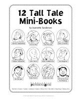 Tall tales mini books
