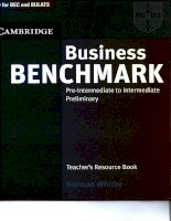 49857902 business benchmark pre int to interm teacher s resource book