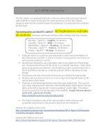 ACT ASPIRE info sheet