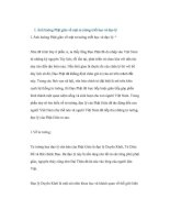 ĐỀ tài ẢNH HƯỞNG PHẬT GIÁO tới đời SỐNG xã hội VIỆT NAM