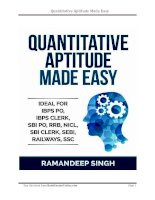 Quant book for exams