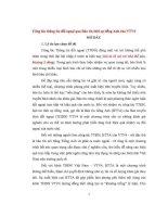 ĐỀ tài CÔNG tác THÔNG TIN đối NGOẠI QUA bản TIN THỜI sự TIẾNG ANH của VTV4