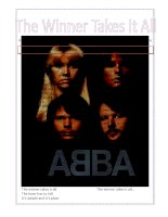 21588 the winner takes it all  abba
