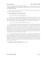 LUẬN văn NGHIÊN cứu và THIẾT kế hệ THỐNG xử lý nước THẢI CÔNG TY GIẤY tân MAI