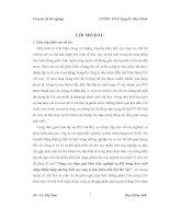 CHUYÊN đề NÂNG CAO HIỆU QUẢ KHAI THÁC NGHIỆP vụ bảo HIỂM HÀNG hóa XUẤT NHẬP KHẨU BẰNG ĐƯỜNG BIỂN tại CÔNG TY bảo HIỂM dầu KHÍ hà nội