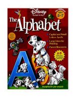 ABC disney english book  5 7 years