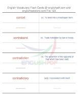 TOEFL IBT vocabulary flash cards123