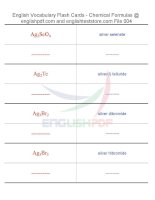 Vocabulary flash cards   chemical formulas04