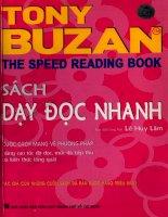Sách dạy phương pháp đọc nhanh