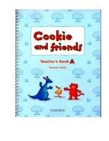Cookie  friends teacher s book a