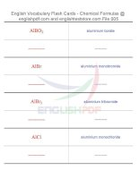 Vocabulary flash cards   chemical formulas05