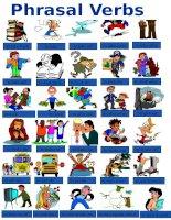 phrasal verbs pictionary
