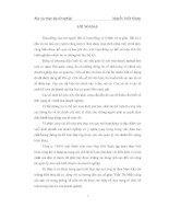 BÁO cáo THỰC tập tại CÔNG TY TNHH một THÀNH VIÊN THAN mạo KHÊ