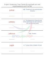 TOEFL IBT vocabulary flash cards330