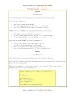 sample speaking test 2