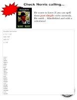 61466 past simple regular verbs spelling practice