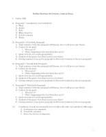 Outline structure for literary analysis essay HATMAT