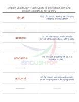 TOEFL IBT vocabulary flash cards05