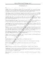 Financial terms a   z