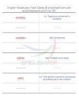 TOEFL IBT vocabulary flash cards187
