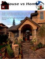 56256 house vs home vocabulary