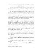 CHUYÊN đề PHÂN TÍCH tài CHÍNH và một số GIẢI PHÁP NÂNG CAO HIỆU QUẢ tài CHÍNH của CÔNG TY TNHH THƯƠNG mại và vận tải TRUNG HOA