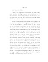 KHÓA LUẬN CHỐNG DBHB của CHỦ NGHĨA đế QUỐC TRÊN mặt TRẬN văn HOÁ tư TƯỞNG ở VIỆT NAM